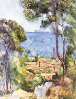 CEZANNE,PAUL - L`Estaque