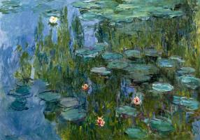 MONET,CLAUDE - Seerosen (Nympheas)