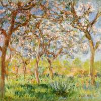 MONET,CLAUDE - Frühling in Giverny