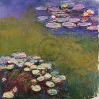 MONET,CLAUDE - Seerosen