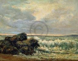 COURBET,GUSTAVE - Die Welle