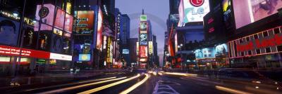 XIONG,JOHN - Time Square colors