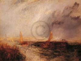TURNER,WILLIAM - Ostende