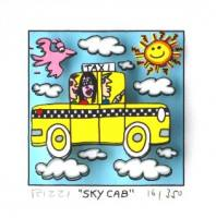 James Rizzi-Sky cab