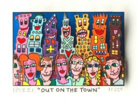 James Rizzi-Out on the town