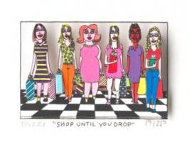 James Rizzi-Shop until you drop