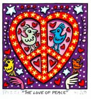 James Rizzi-The love of peace